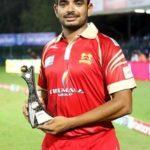 Aniruddha Joshi declared man of the match