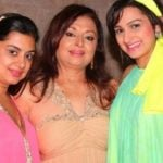 Anita Kanwal with her daughters