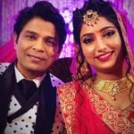 Ankit Tiwari with his wife Pallavi Shukla