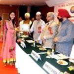 Anukriti Gusain received Mahatma Gandhi Samman 2014