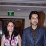 Arjan Bajwa With His Wife