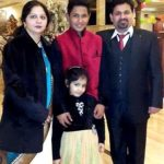 Aryan Juyal with his family