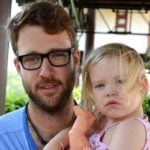 Captain Daniel Vettori With His Daughter Elle