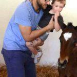 Daniel Vettori With His Son James