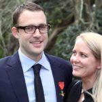 Daniel Vettori With His Wife Mary O'Carroll