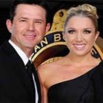 Ricky Ponting With His Wife Rianna Jennifer Cantor