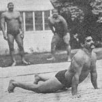 Gama Pehalwan Doing Workouts