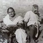 Gama Pehalwan With His Wife Wazeer Begum