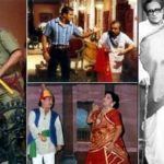 Ghanshyam Nayak in various movie scenes