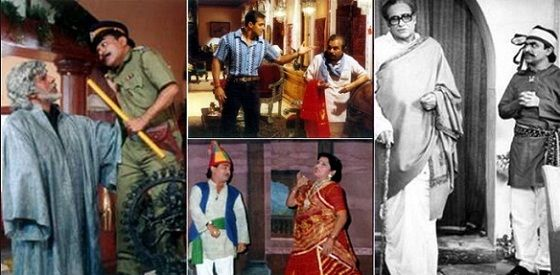 A collage of the scenes of the movies done by Ghanshyam Nayak