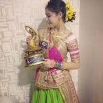 Gracy Goswami - Garba dancer