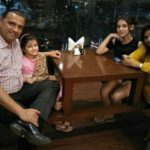 Gracy Goswami with her family