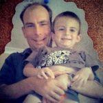 Heinrich Klaasen (Childhood) with his father Paul Klaasen
