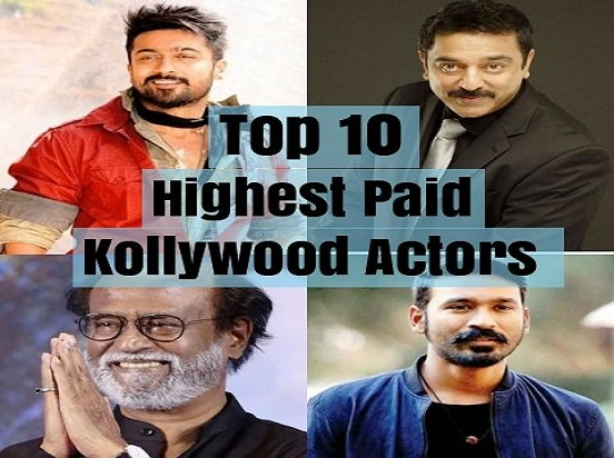 Highest Paid Kollywood Actors