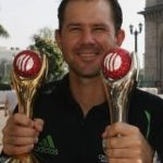Ricky Ponting With Trophies