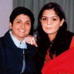 Kiran Bedi With Her Daughter Saina aka Sukriti