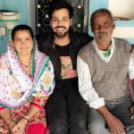 Love Rudraksh with his parents