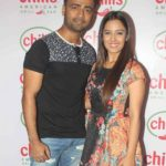 Manish Naggdev with Srishty Rode