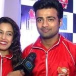 Manish Naggdev with Srishty Rode during BCL event