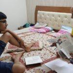 Manish Sisodia With His Son