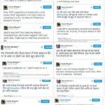 Manish Sisodia and Chetan Bhagat War on Twitter