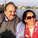 Mehul Choksi With His Wife