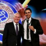 Mitchell Johnson won Allan Border Medal