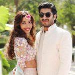 Mohit Marwah with his wife Antara Motiwala