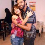 Monaz Mevawala with her brother