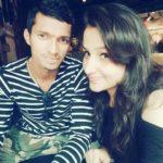 Navdeep Saini with Pooja Bijarnia
