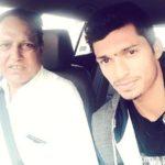 Navdeep Saini with his father Amarjeet Singh Saini