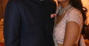 Neeshal Modi With His Wife