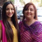 Nikkesha Rangwala with her mother