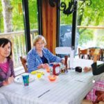 A Recent Picture Of Sylvia (Centre)
