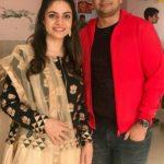 Priya Raina with brother
