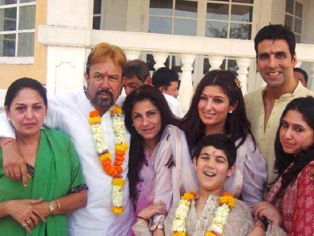 Rajesh Khanna Family