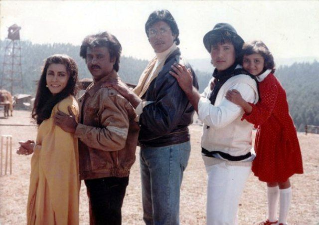 Rajinikanth in Hum