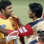 Ravichandran Ashwin fight in TNPL