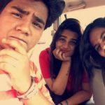 Samay Shah with his sisters