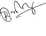 Saurabh Bhardwaj Signatur