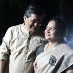 Shailesh Datar with his wife
