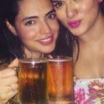 Shweta Bhardwaj drinking