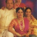 Sridevi (Sitting Centre) With Her Parents And Sister Latha