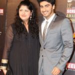 Sridevi Step Son Arjun Kapoor and Step Daughter Anshula