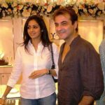 Sridevi With Her Brother in Law Sanjay Kapoor