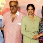 Sridevi with her Husband and Daughters