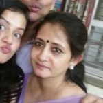 Sulagna Panigrahi with her parents