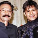 Suresh Oberoi With His Son Vivek Oberoi