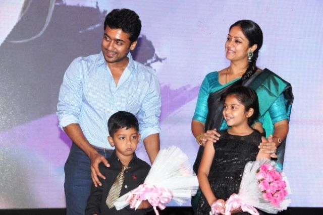 Suriya With His Family