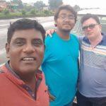 Tanuj Mahashabde with brother and nephew